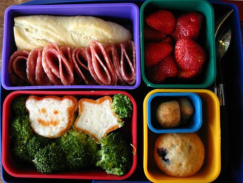 Kindergarten Bento #240: September 24, 2009