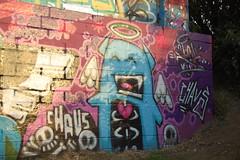 ep crew (pranged) Tags: pool rose swimming graffiti greg 26 leeds bank crew kens em ep bsa kus 2061 tsm tfa phuck lank phibs thk