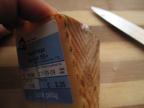 Mexican Manchego cheese