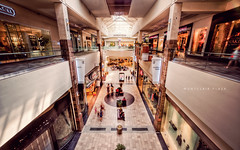 Montclair Plaza (isayx3) Tags: plaza people mall shopping architechture nikon sigma indoor center 24mm victoriassecret f28 hdr d3 norstroms plainjoe isayx3