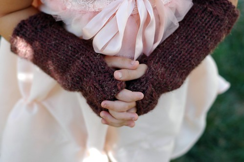 Childrens Fingerless Mitts