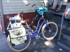 My bike (now with panniers)