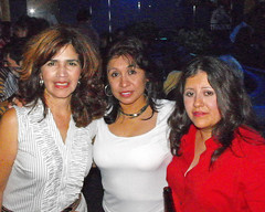 Leticia, Sylvia, and Laura. (Flagman00) Tags: party reunion disco dance anniversary mixer highschool 30th alumni johnfkennedy 79 sanantoniotx classof1979 lauragutierrez mightyrockets sylviamagaaramirez bogeysnightclub leticiavasquezmartinez