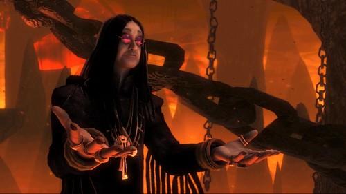 Ozzy Osbourne as The Guardian of Metal
