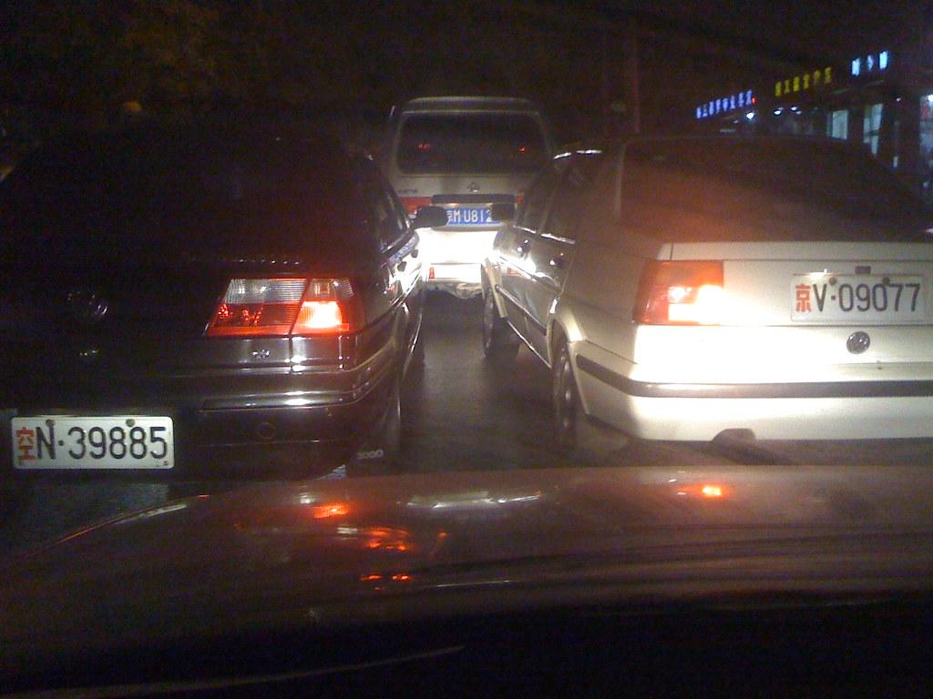 北京无法无天的军车