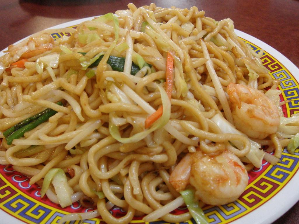 Prawn Chow Mein