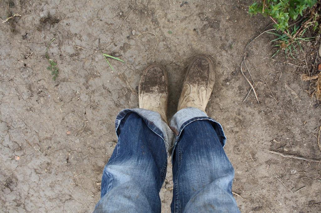 Falsches Schuhwerk