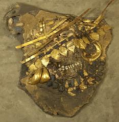 Ancient Female Skull from Ur (Penn Museum) Tags: skulls iraq mesopotamia sumer deadheads ctscan sumerian