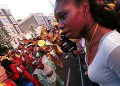 Nottinghill Caribbean Carnival London Aug 1999 301 (photographer695) Tags: carnival girls party people london fun 1999 caribbean nottinghill nottinghillcarnival