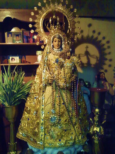 Our Lady of the Rosary of La Naval at home 2
