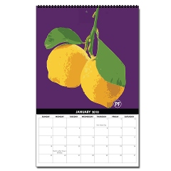 Organically Grown Vertical Wall Calendar