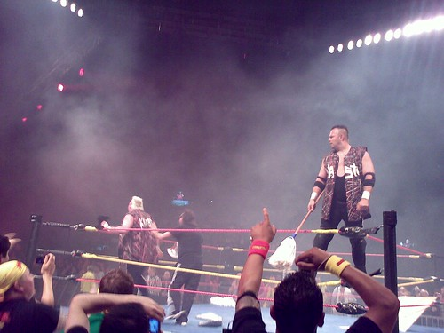 Nasty Boys celebrate the win