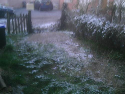 Neige sur biganos, février 2010