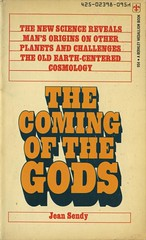 Sendy, Jean - The Coming Of The Gods (exaquint) Tags: science bookcover nonfiction