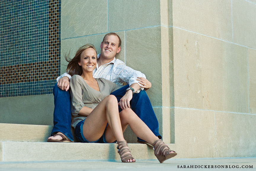 Kansas City Liberty Memorial engagement photography