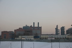 EC-1 heating plant complex , Łódź 15.02.2017 (szogun000) Tags: łódź poland polska city cityscape buildings architecture old brick industrial industry heatingplant complex smokestacks urban snow winter łódzkie canon canoneos550d canonefs18135mmf3556is
