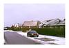 House / Street / Car (Christopher Magni Kjerholt) Tags: nikon el fujifilm 400 expired 2009 herning denmark