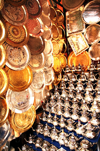 Hallucinations and Le Shopping in Le Souk