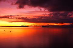Sunset at West Coast; Upolu, Samoa (tmizo) Tags: ocean sunset island twilight pacific dusk pacificocean southpacific samoa oceania upolu