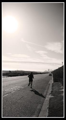 Roadside jog