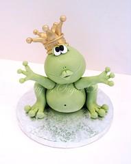Frog Prince (Betty´s Sugar Dreams) Tags: cute cake germany deutschland hamburg prince frog hochzeit frosch froggy hochzeitstorte torte könig froschkönig hochzeitstorten motivtorte betty´ssugardreams sugardreamsde bettinaschliephakeburchardt frogpince
