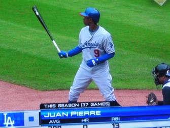 20b065955c5 ... blue cap under his batting helmet on Monday