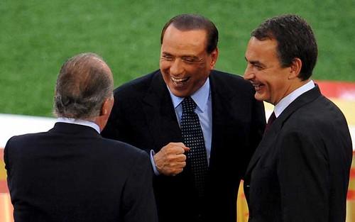 Zapatero y Berlusconi