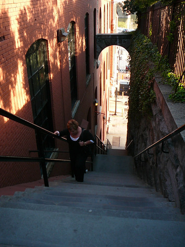 Auntie Sue dies climbing the Exorcist stairs
