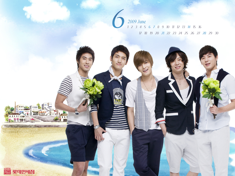 dbsk wallpaper. [WALLPAPER] Lotte June 2009