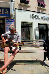Gibraltar Idol (cwgoodroe) Tags: ocean uk england costa sun lighthouse london castle sol beach beer del square airplane colorful europe wind gib military mosque bobby zane pint gibraltar runway policestation fishandchips territory instalation gibralter moneky fedra europapoint airtower angryfriar 3sheets zanelampry corgovesselsummer vesselcollision