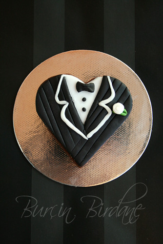 Bride-Groom Cookie