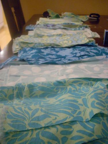 Cut & ready fabric