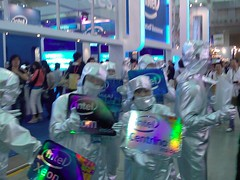 Shiny Intel guys at Computex