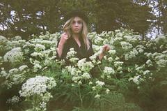 flower power (margrt unnur.) Tags: flowers trees summer selfportrait green film me iceland spring magga