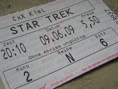 09.05.2009, 20.10 Uhr, Cinemaxx Kiel (Saal 2), 5,50 €