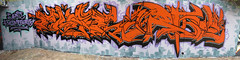 Phar ck, Artoe ck (:SEWRAT:DFA:) Tags: orange black grey graffiti san purple sandiego diego cant sd piece ck arto phar kompare artoe