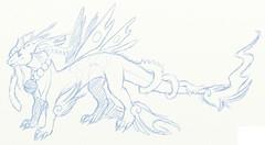 sketch Japandragon contest (Tokamirami) Tags: japan dragon contest deviantart schets felizz