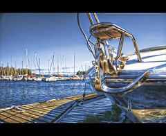 Chrome (Johan Runegrund) Tags: summer harbor dock nikon sweden chrome hdr johan sommar topaz hamn d40 natureselegantshots runegrund
