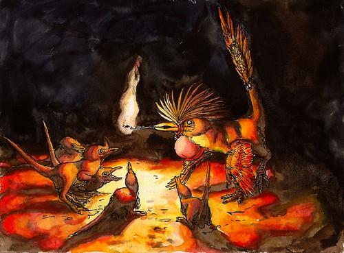 shaman ritual fire