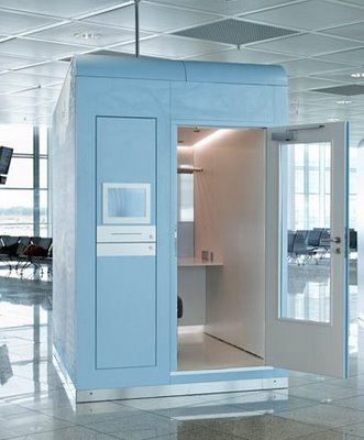 private office sheds for airports