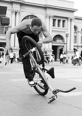 BMX Flatland: Pete Brandt (shaire productions) Tags: sf sanfrancisco california street city light shadow urban bla