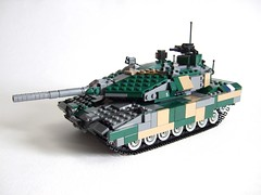 Leo 2A7 without plow (Aleksander Stein) Tags: tank lego military main battle leopard mbt armour ndc 2a7