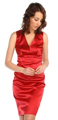 Short red dress (dunikowski) Tags: dress traje vestido kleid suknia sukienka dagnez