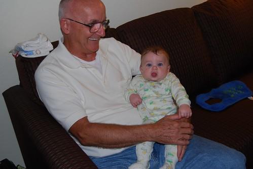 Alex with Poppy