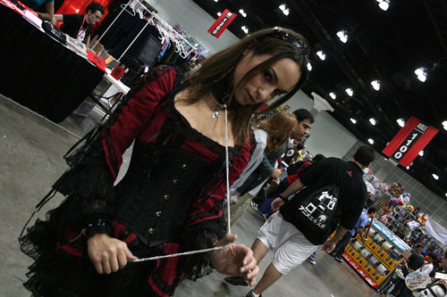The Babes of Anime Expo 2009