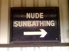 Nude Sunbathing