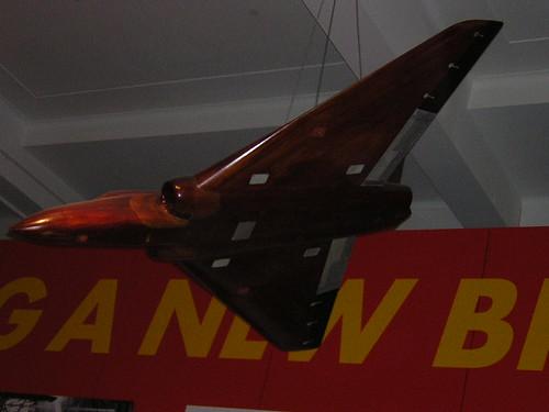 Avro Vulcan Wind Tunnel Model