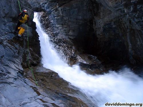 Garganta de los Navarros: Primera cascada