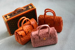 Hello Ladies! (lili_mini) Tags: bag toys miniature mini rement hermes lv louisvuitton birkin secretset departmentstoreseries