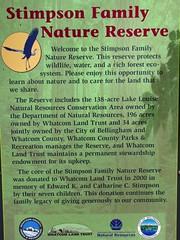 Trail info - signage